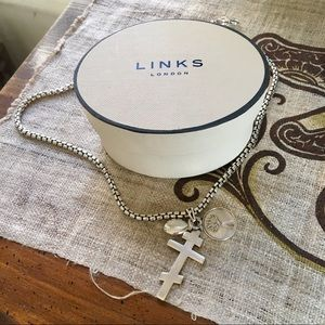 Links of London chunky statement necklace
